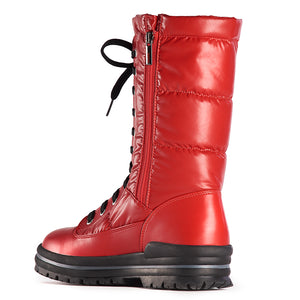 Olang Glamour Boot With Grips (Red, White, Anthracite)
