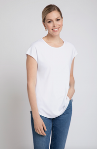 Bylyse Short Sleeve Top (Pink, White, Black, Light Blue, Lemon)