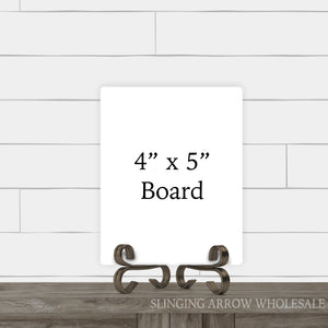 "4"" x 5"" Rectangle Board"