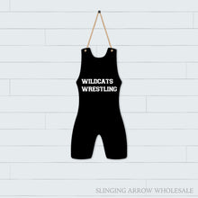 Load image into Gallery viewer, Wrestling Singlet Door Hanger
