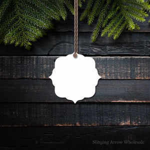 Squared Chic Ornament