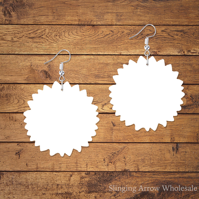 Sunflower Earring Blanks