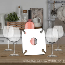 Load image into Gallery viewer, 4 Glass Wine Caddy