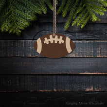 Load image into Gallery viewer, Football Ornament