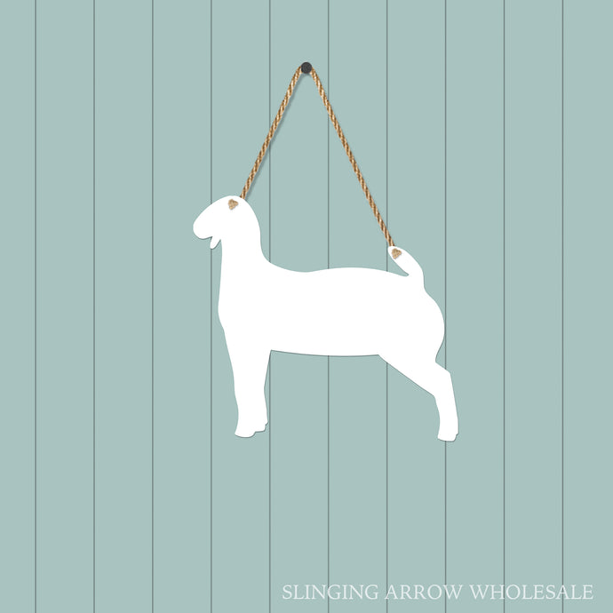 Goat Door Hanger