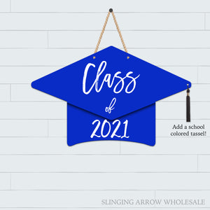 Grad Hat Door Hanger