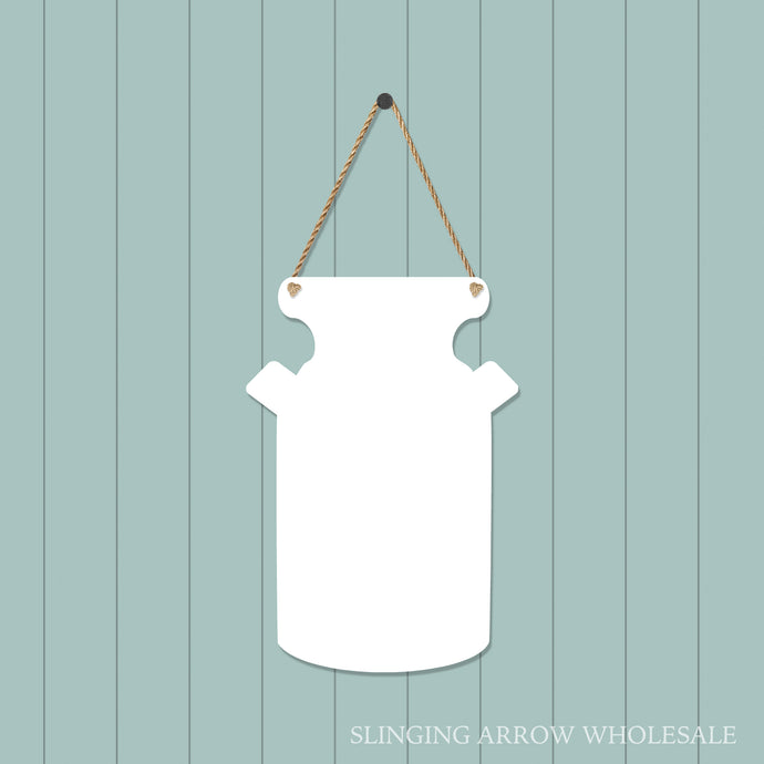 Milk Can Door Hanger