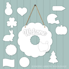 Load image into Gallery viewer, Interchangeable Wreath Door Hanger Set