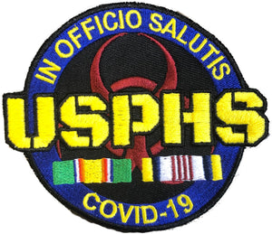 COVID-19 Campaign Embroidered Patch