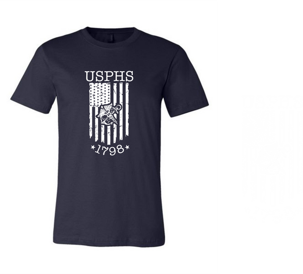 USPHS Flag T-shirt Unisex