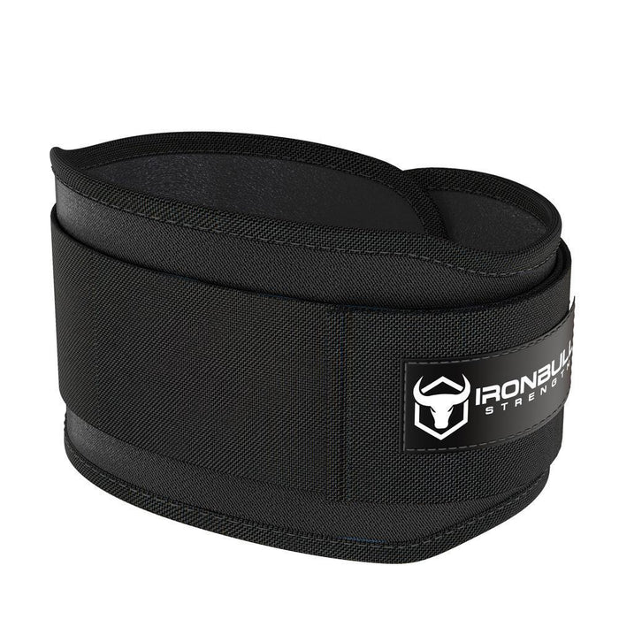 black 5 inches weight lifting belt for powerlifting