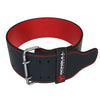 Black-Red 10mm suede powerlifting belt