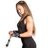 black-sky-blue women wrist wraps protection for arms workout