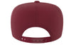 burgundy snapback iron bull strength