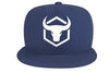 navy-blue cap with fitness logo