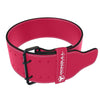 pink 10mm suede powerlifting belt