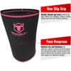black-pink iron bull strength 7mm knee sleeves features 2