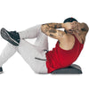 sit up variation on abdominal mat