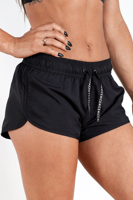 black women shorts with good mobility and range of motion