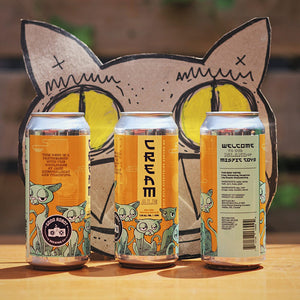 Cats Rule Everything Around Me C.R.E.A.M. | Cream Ale |  (473ml can)