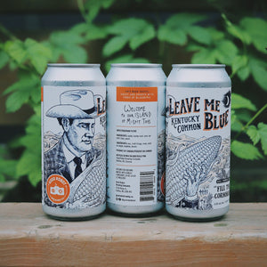 Leave Me Blue | Corn Ale |  (473ml can)