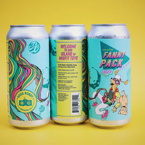 Fanny Pack | Dry-Hopped Lager |  (473ml can)