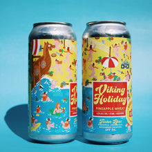 Load image into Gallery viewer, Viking Holiday | Pineapple Wheat Kveik |  (473ml can)