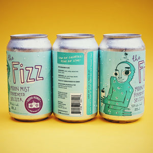 The Fizz | Moon Mist Fermented Seltzer | (355ml can)