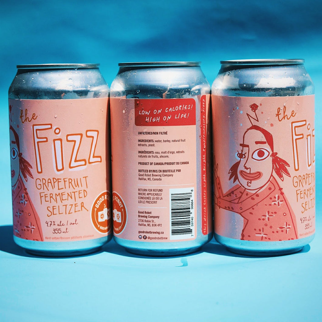 The Fizz | Grapefruit Fermented Seltzer | (355ml can)