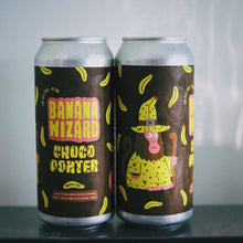 Load image into Gallery viewer, Banana Wizard | Chocolate Banana Porter |  (473ml can)