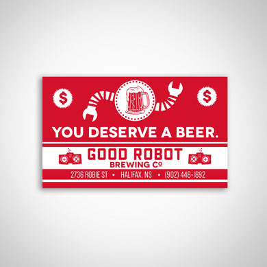 Good Robot E-Cards - Get em now!