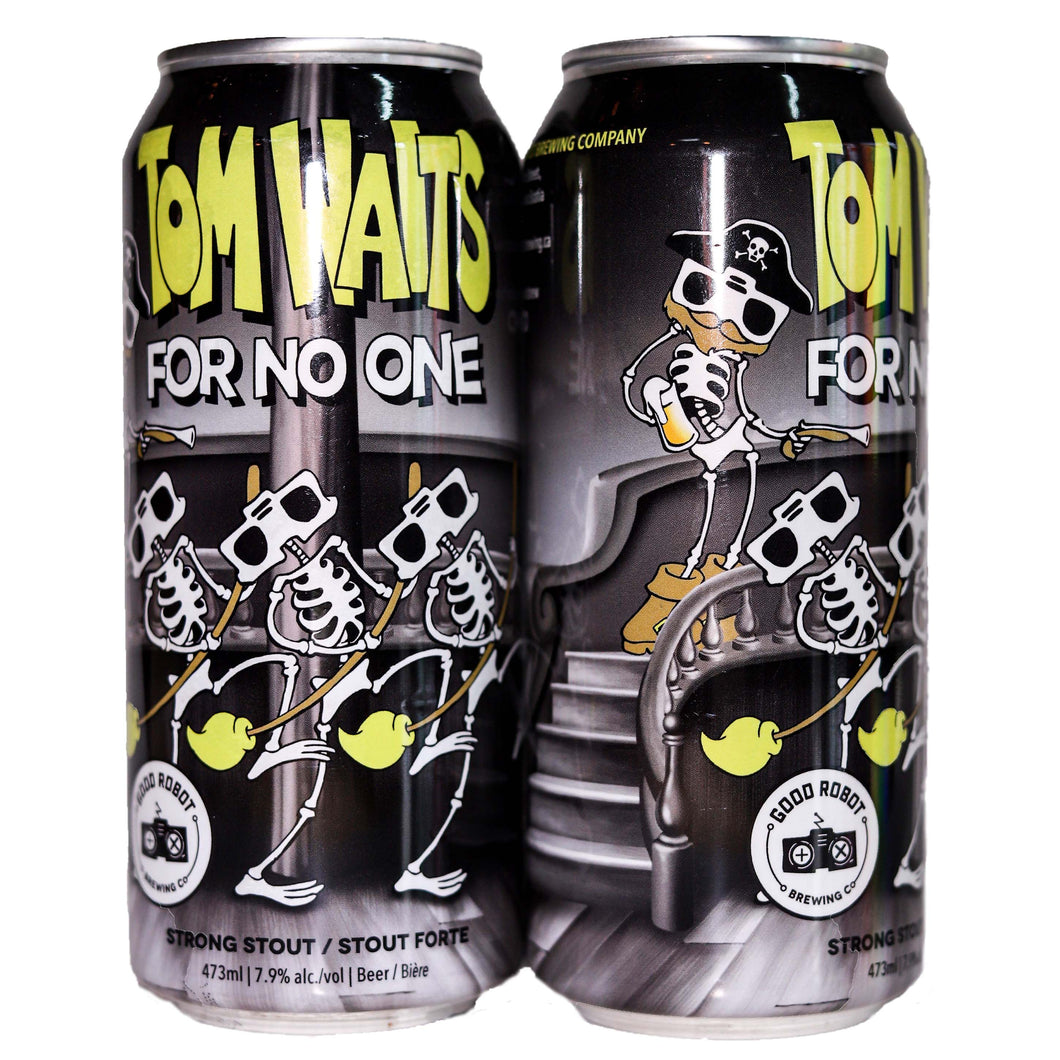 Tom Waits For No One | American Stout |  (473ml can)