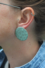Load image into Gallery viewer, Circle Earrings - Various Sizes and Colors