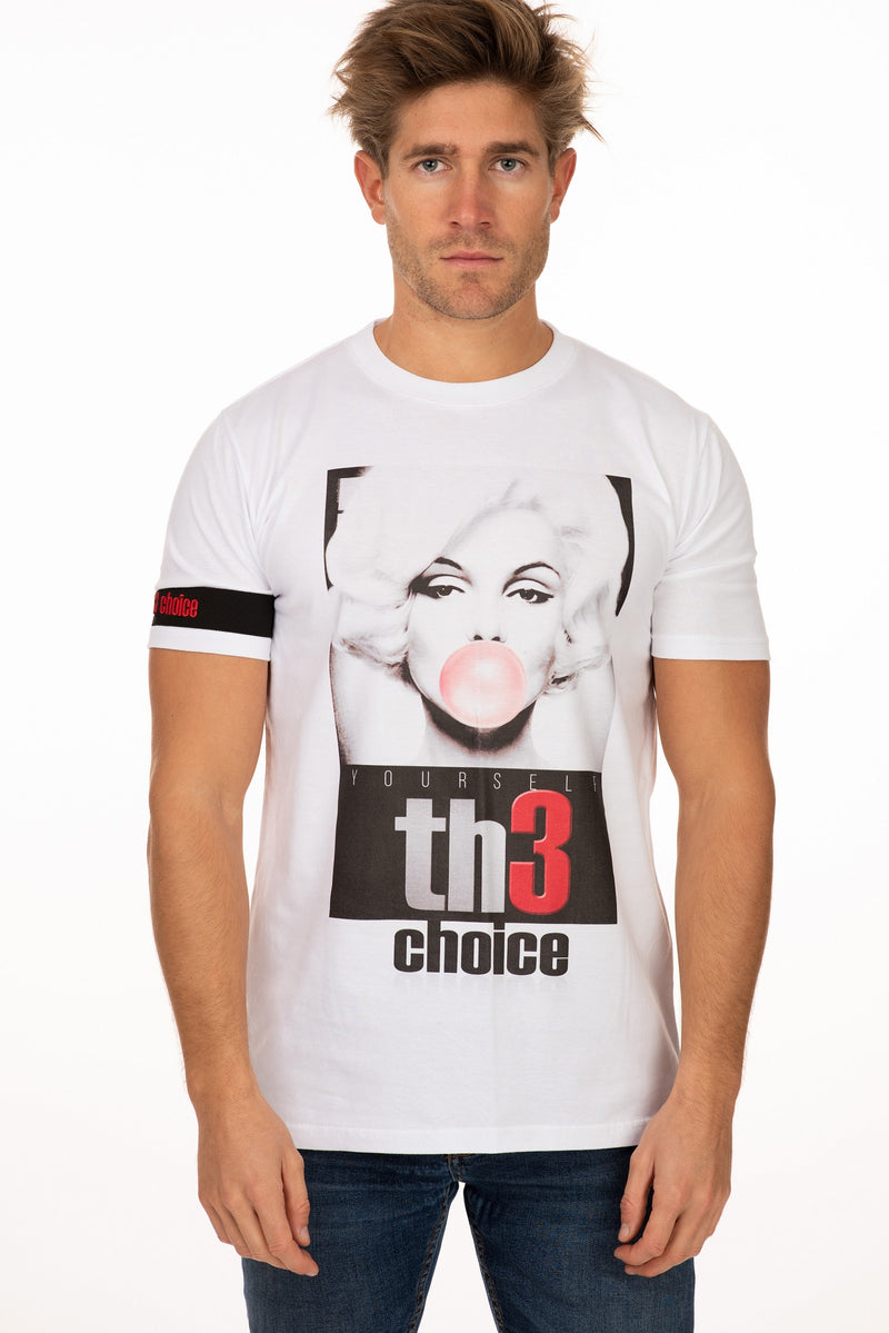 Camiseta Th3 Choice Globo Rojo - Th3Choice