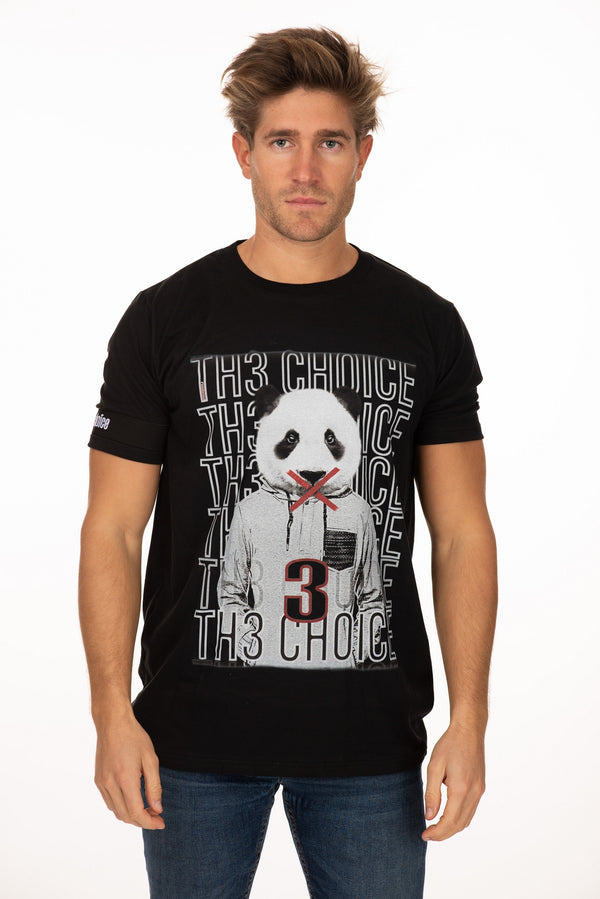Camiseta Th3 Choice Panda - Th3Choice