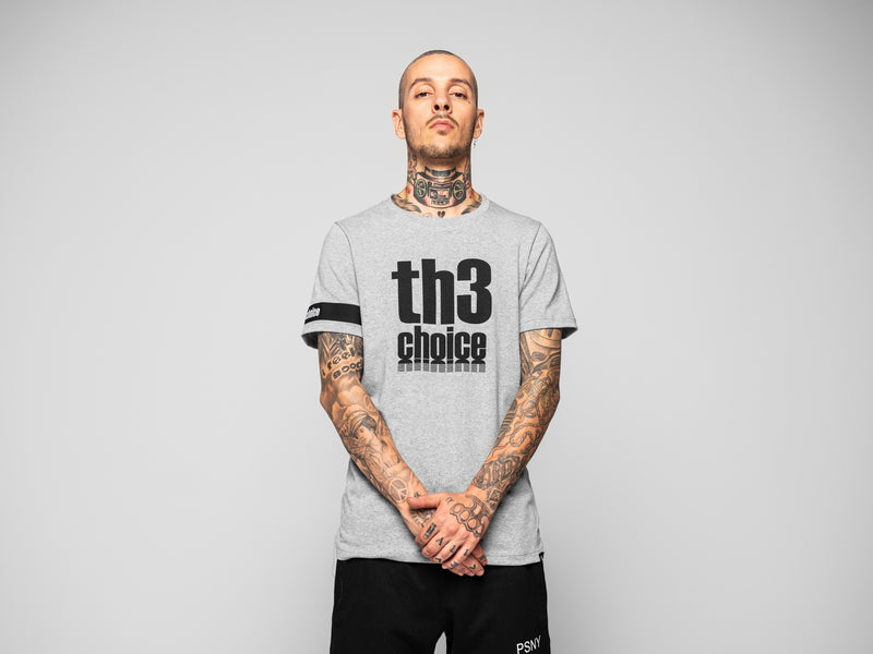 Camiseta Th3 Choice Logo Negro