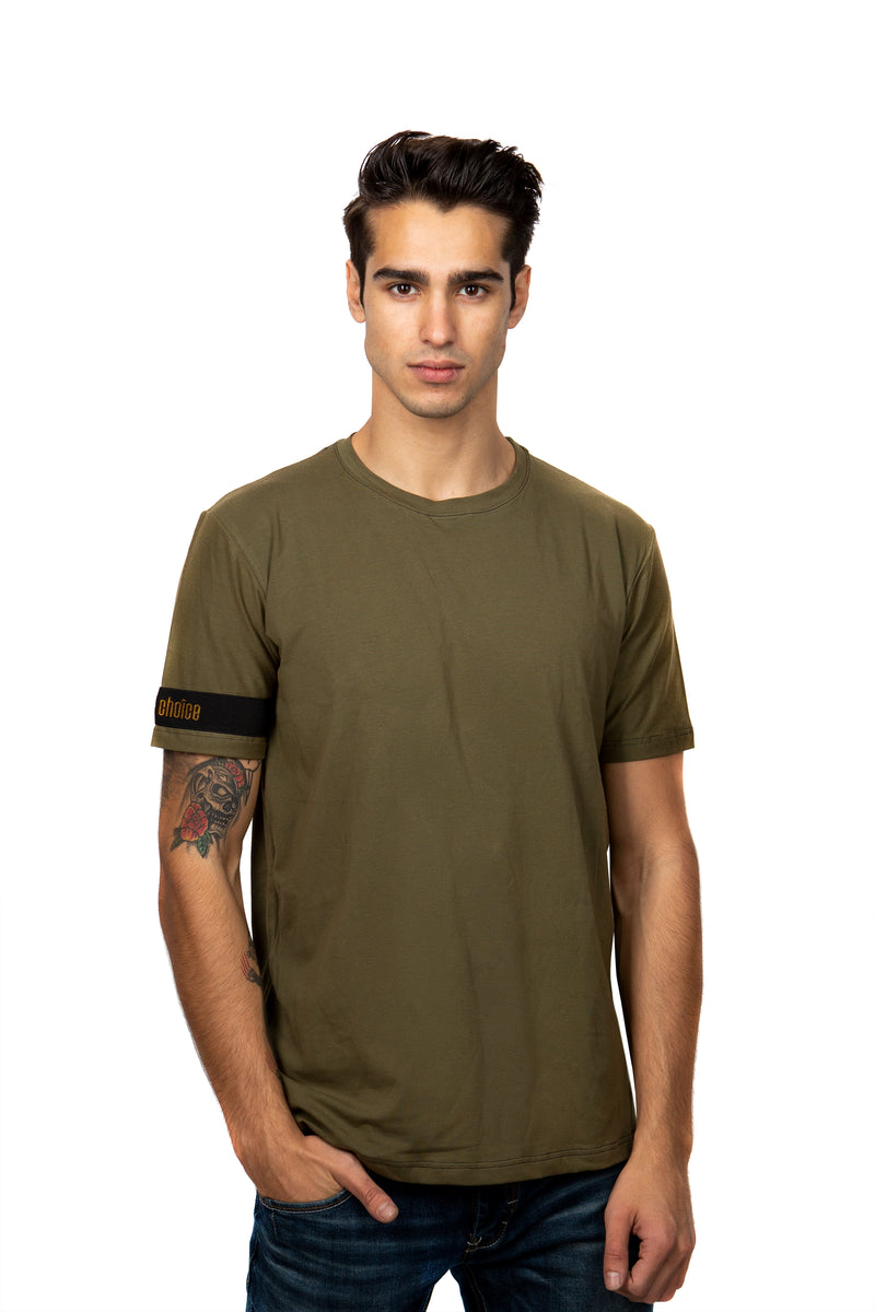 Camiseta Essential Khaki
