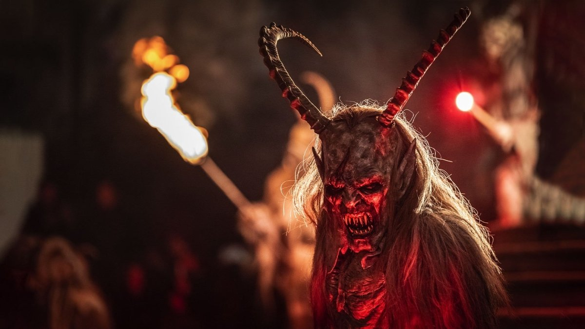 Krampus – The Christmas Demon Who Punishes Kids | GothRider®