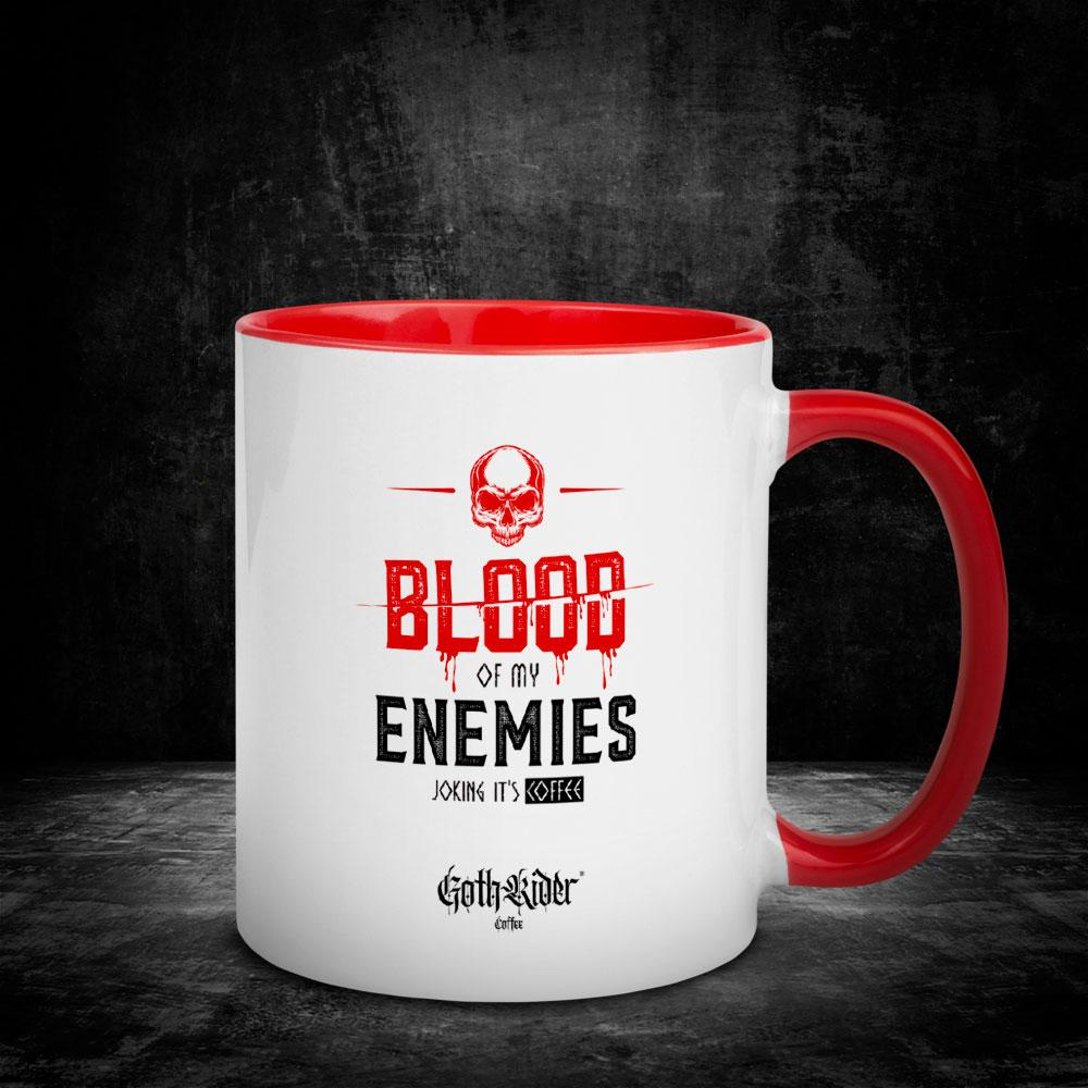 Blood Of My Enemies Mug - GothRider®