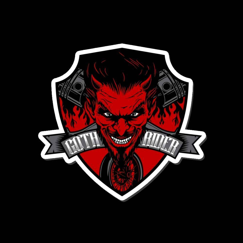 Devil Sticker - GothRider®