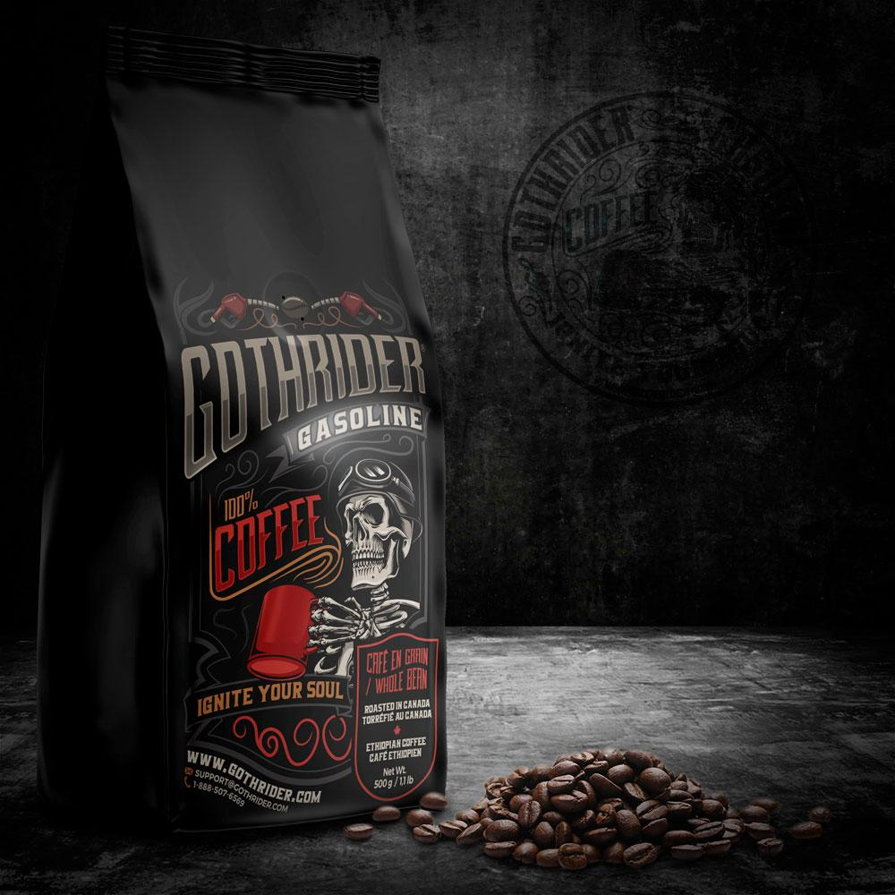 Gasoline Coffee - GothRider®