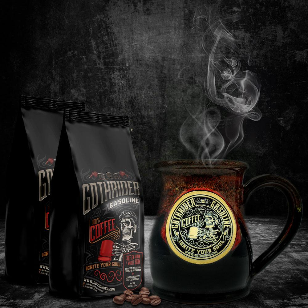 Gasoline Coffee Belly Limited Edition Kit - GothRider®