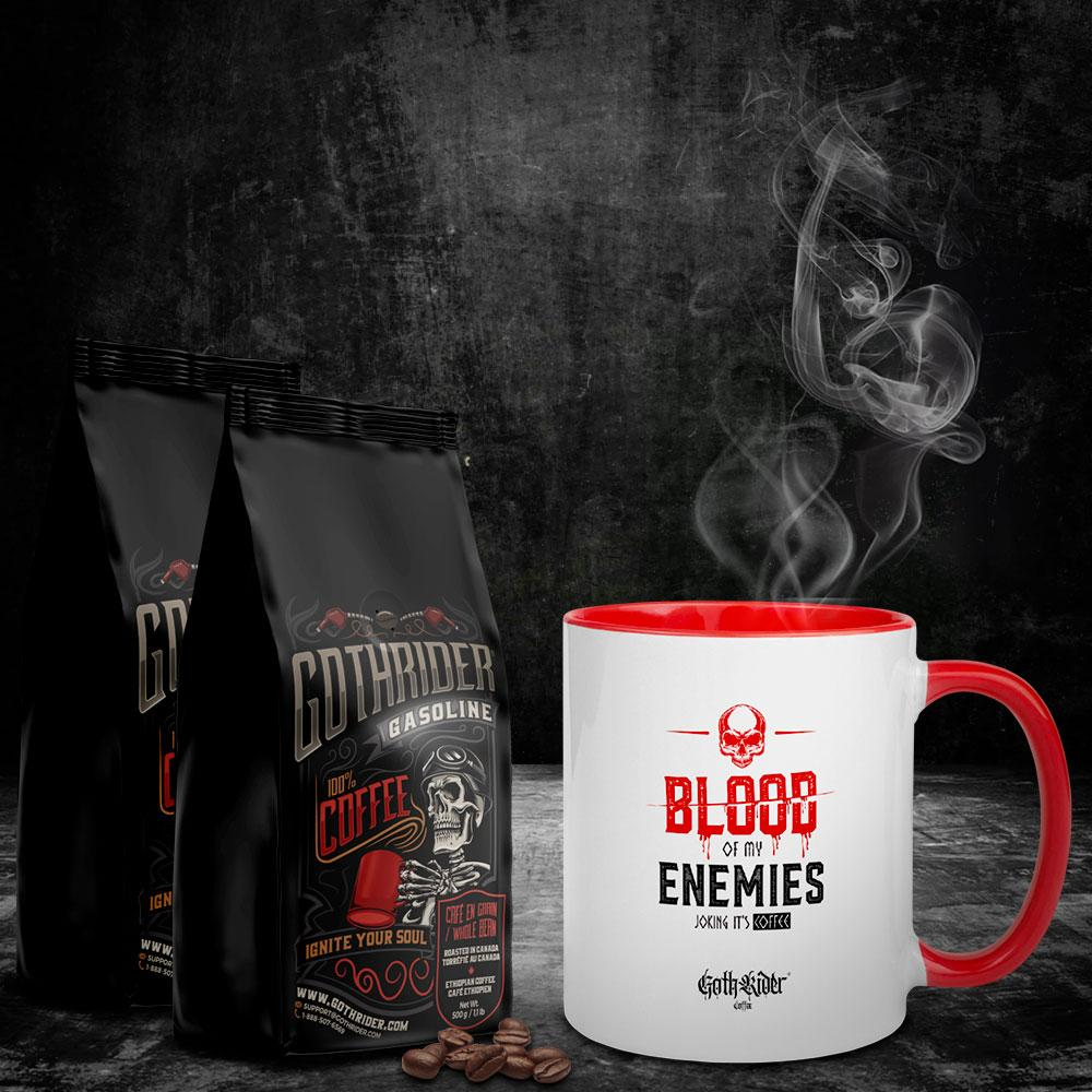 Gasoline Coffee Blood Of My Enemies Kit - GothRider®