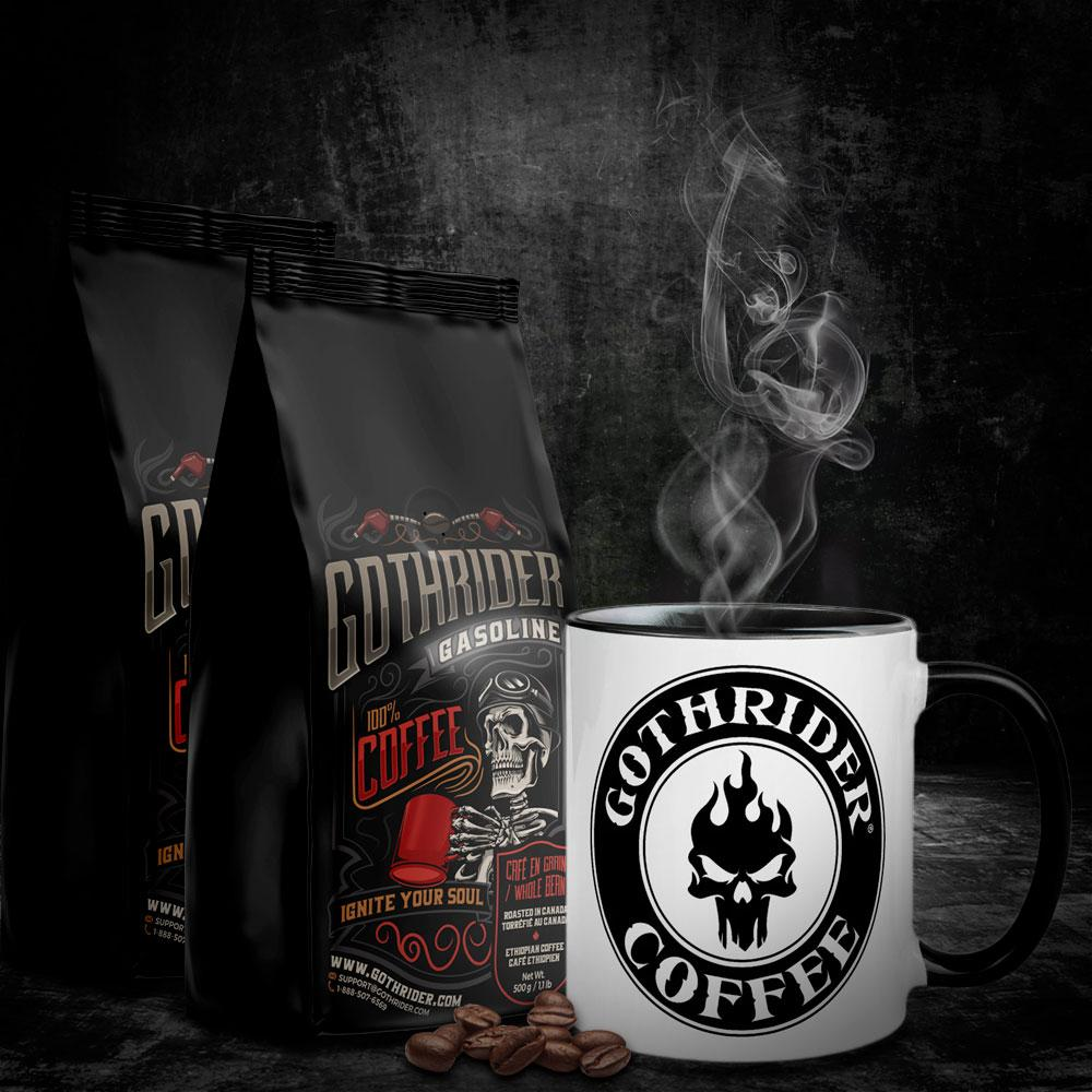 Gasoline Coffee Classic Starter Kit - GothRider®
