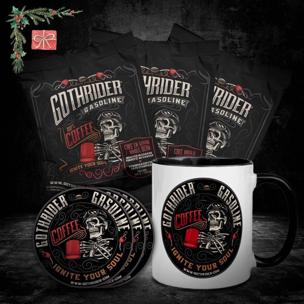 Gasoline Coffee On The Road Kit - GothRider®