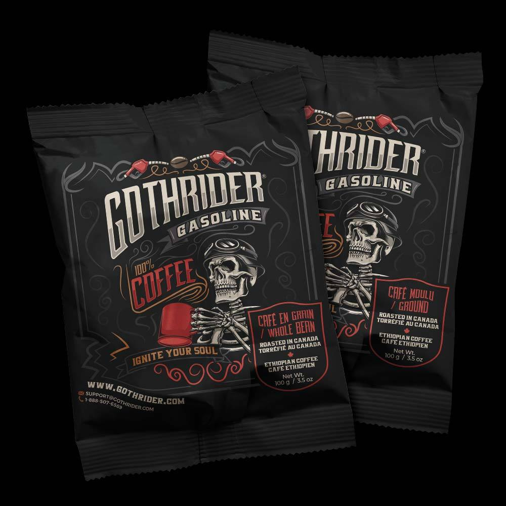 Gasoline Coffee Sample Pack - GothRider®