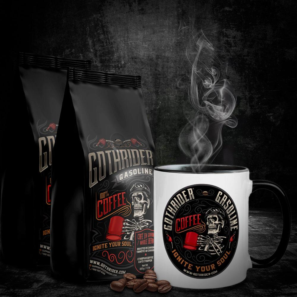Gasoline Coffee Starter Kit - GothRider®