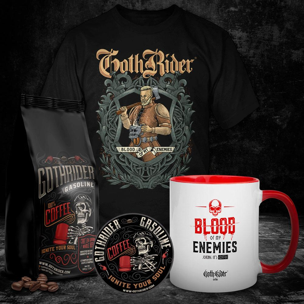 Gasoline Coffee Viking Kit - GothRider®