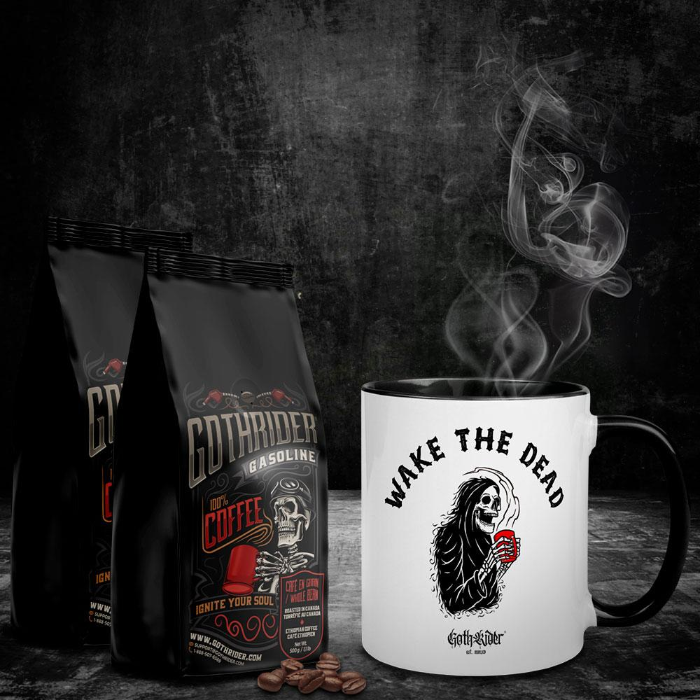 Gasoline Coffee Wake The Dead Kit - GothRider®