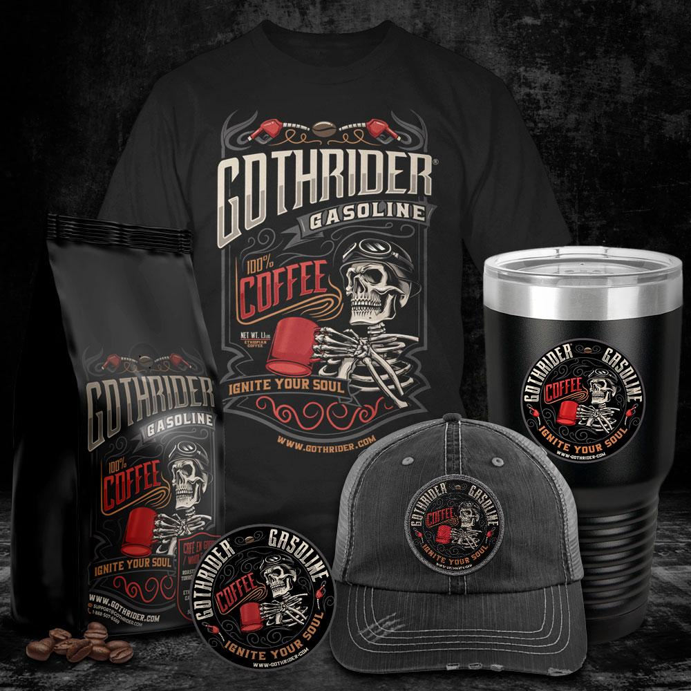Gasoline Trucker Kit - GothRider®